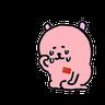 愛國小粉熊 - Tray Sticker