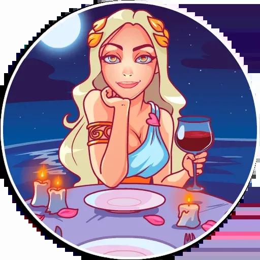 Aphrodite - Sticker 20