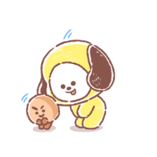 BT21 soft - Sticker 8