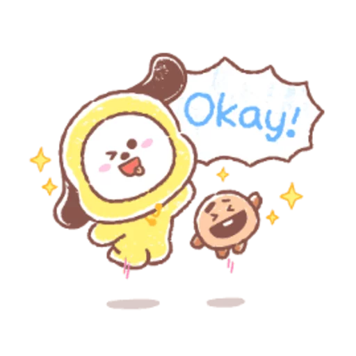 BT21 soft - Sticker 2