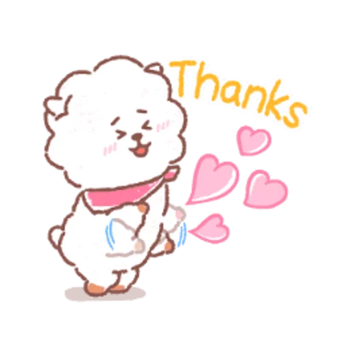 BT21 soft - Sticker 1