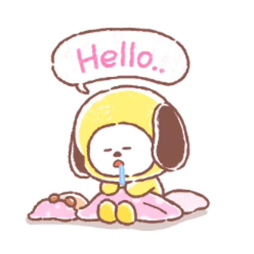 BT21 soft - Sticker 16