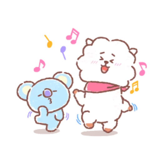 BT21 soft - Sticker 11