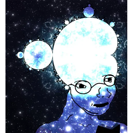 Expanding Brainlet - Sticker 14