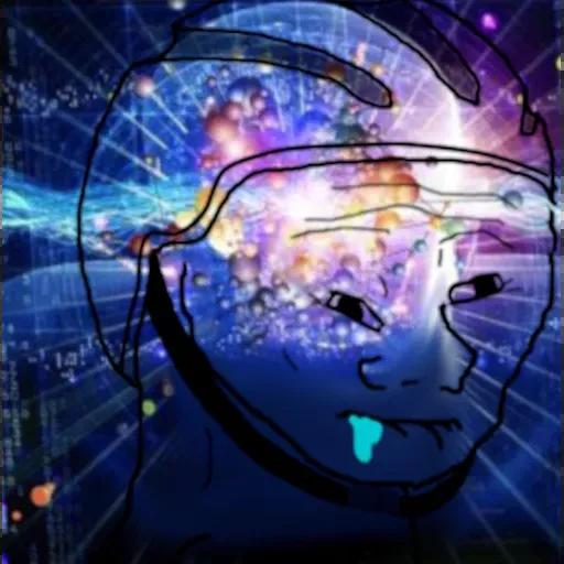 Expanding Brainlet - Sticker 1