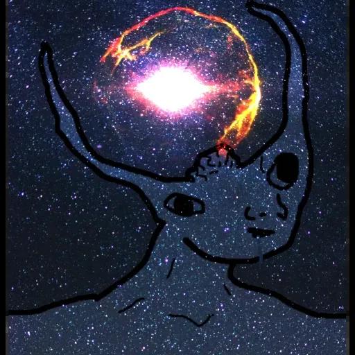 Expanding Brainlet - Sticker 8