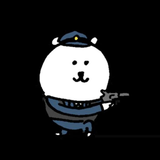 小白熊 - Sticker 6