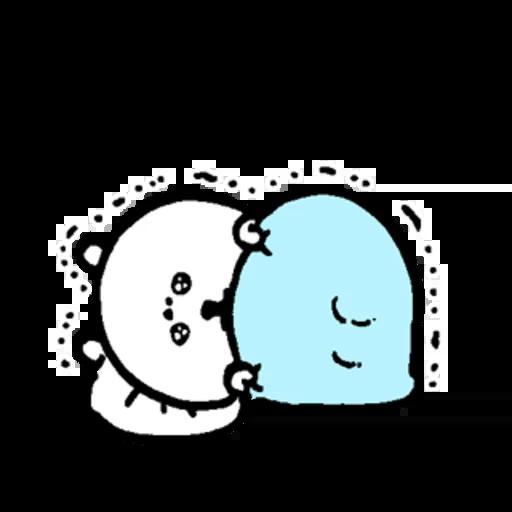 小白熊 - Sticker 14