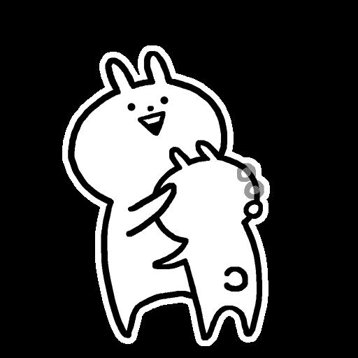 Usagyuuun - Sticker 11