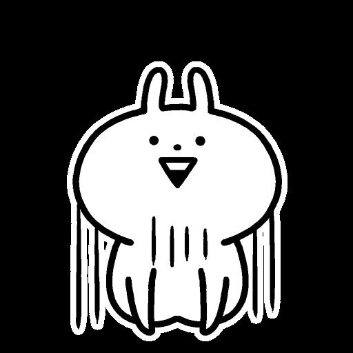 Usagyuuun - Sticker 24