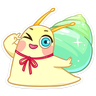 Snail - Tray Sticker