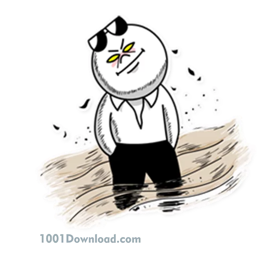 Moon Mad - Sticker 9