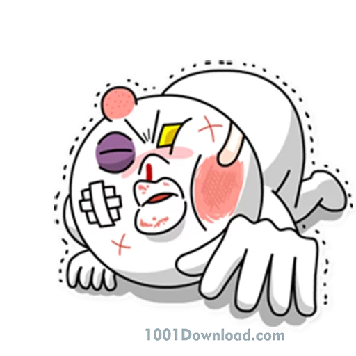 Moon Mad - Sticker 12