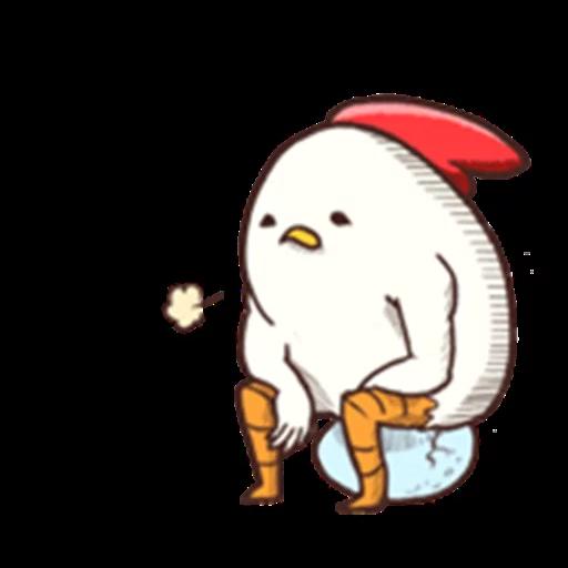雞 - Sticker 27