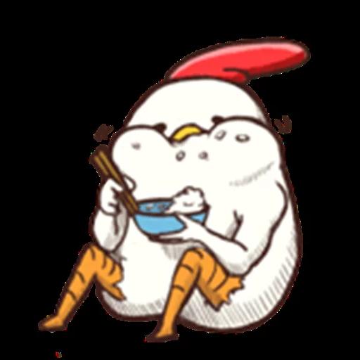 雞 - Sticker 22