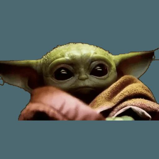 Baby Yoda - Sticker 6