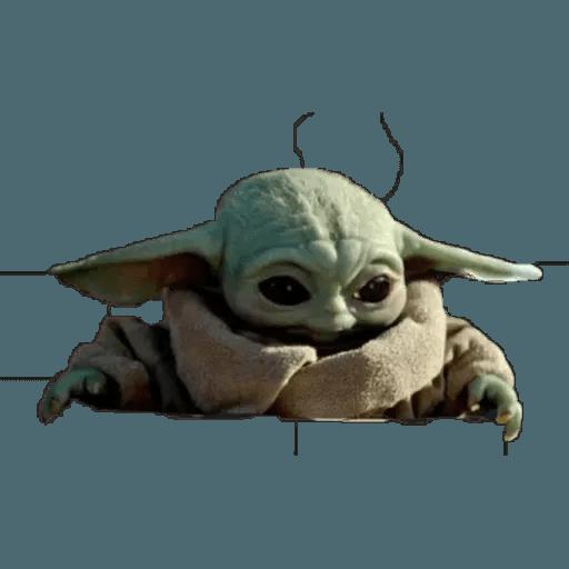 Baby Yoda - Sticker 2