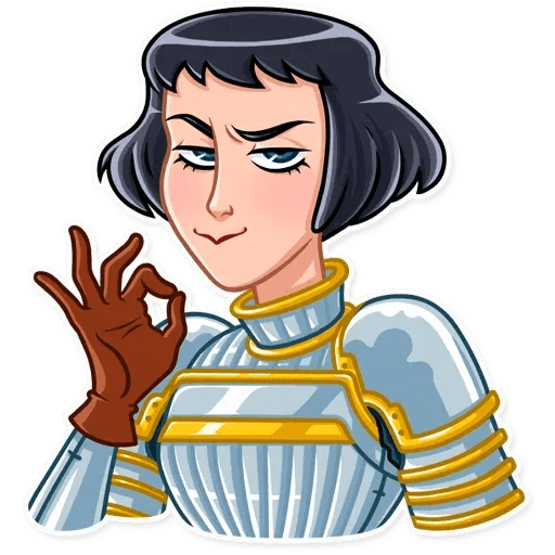 Joan of Arc - Sticker 23