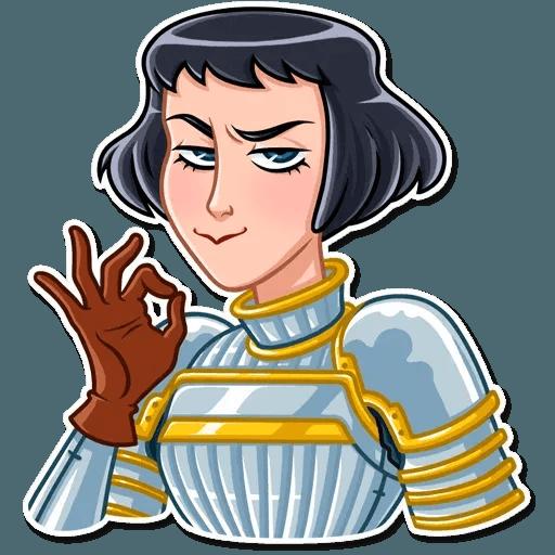 Joan of Arc - Sticker 23