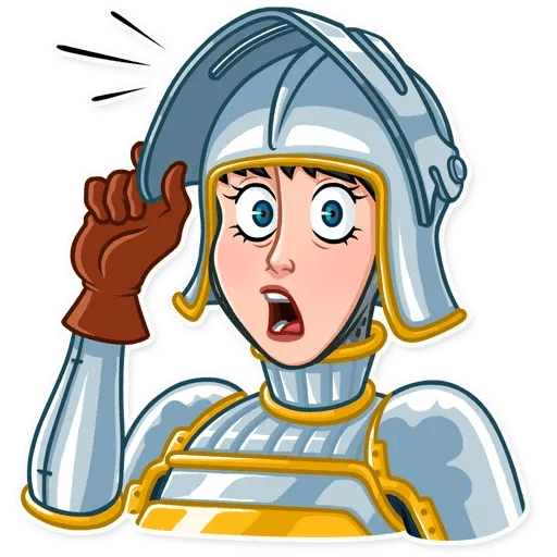 Joan of Arc - Sticker 25