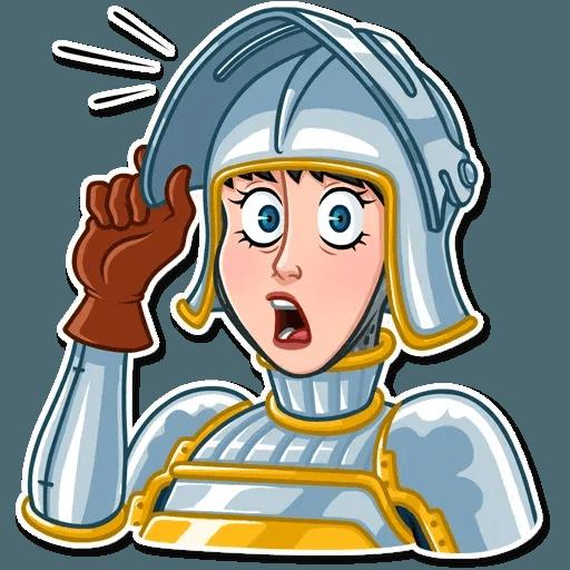 Joan of Arc - Sticker 25