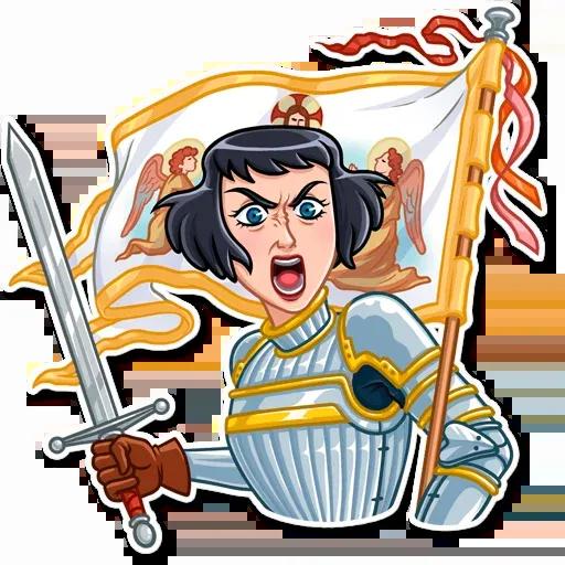 Joan of Arc - Sticker 21