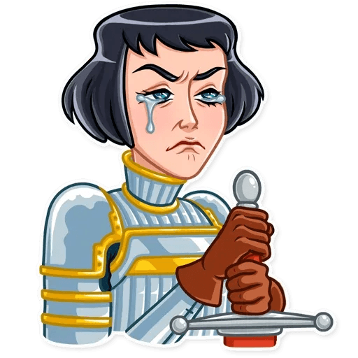 Joan of Arc - Sticker 19