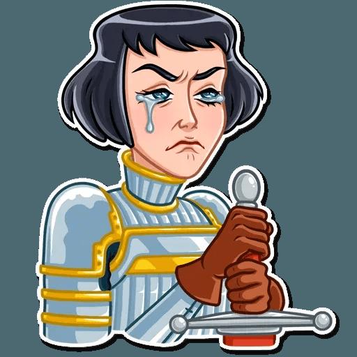 Joan of Arc - Sticker 19