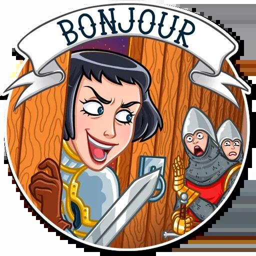 Joan of Arc - Sticker 12