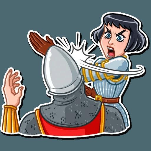 Joan of Arc - Sticker 22