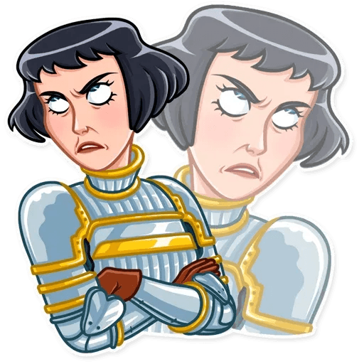 Joan of Arc - Sticker 14
