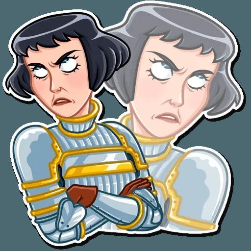 Joan of Arc - Sticker 14