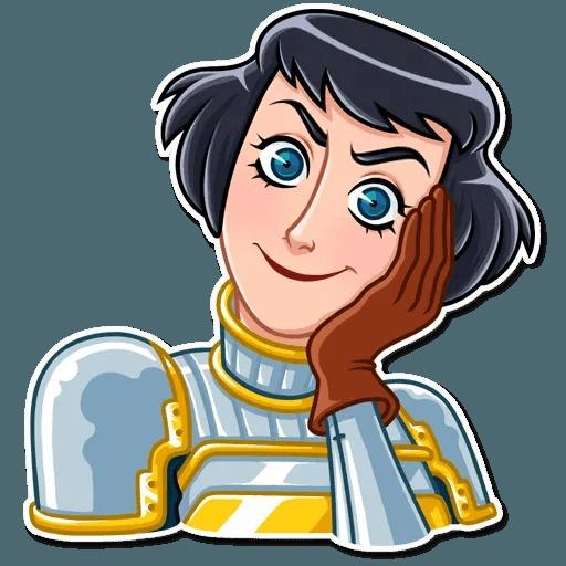 Joan of Arc - Sticker 2