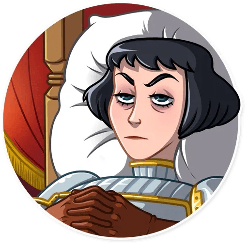 Joan of Arc - Sticker 8