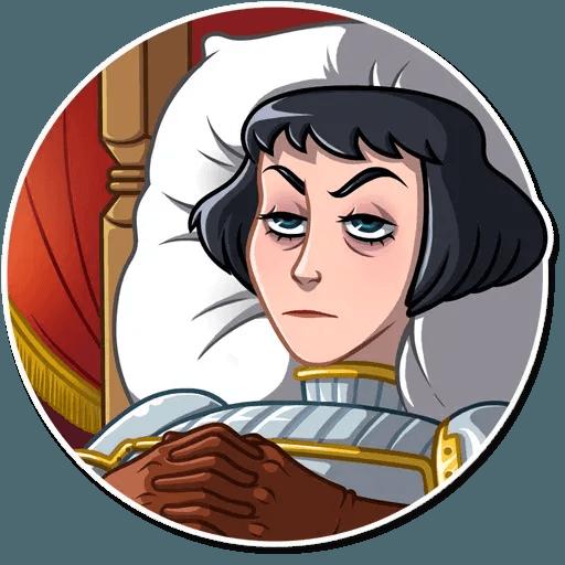 Joan of Arc - Sticker 8