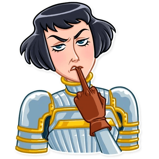 Joan of Arc - Sticker 11