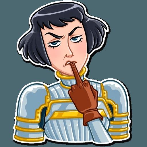 Joan of Arc - Sticker 11