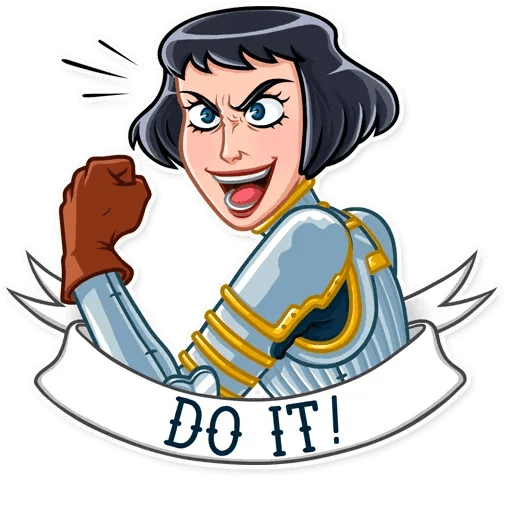 Joan of Arc - Sticker 4