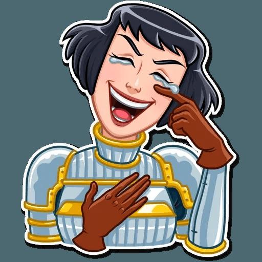 Joan of Arc - Sticker 24