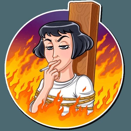Joan of Arc - Sticker 10