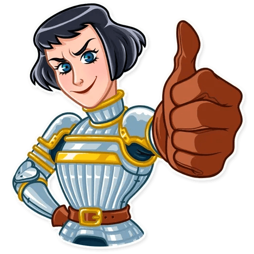 Joan of Arc - Sticker 9
