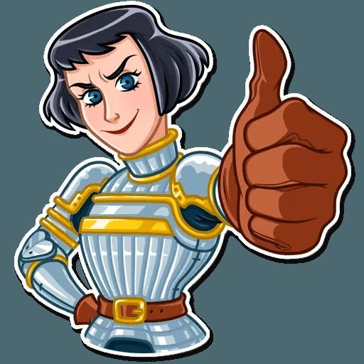 Joan of Arc - Sticker 9