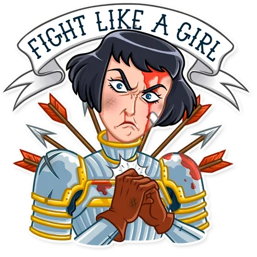Joan of Arc - Sticker 7