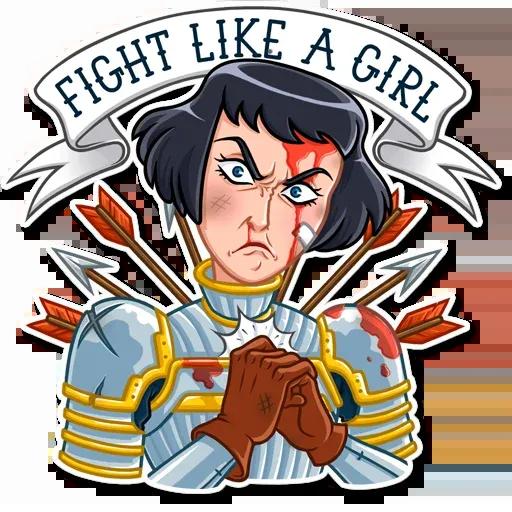 Joan of Arc - Sticker 7