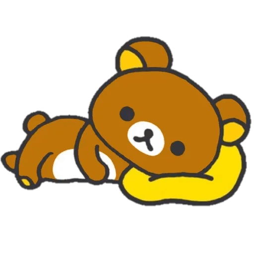 Rilakkuma 1 - Tray Sticker