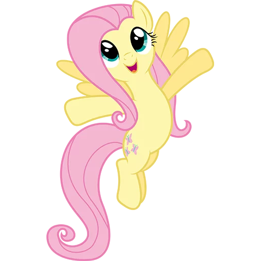 Fluttershy Pony - Sticker 4