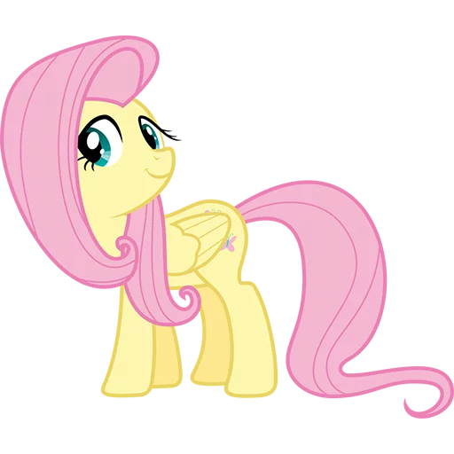 Fluttershy Pony - Sticker 8