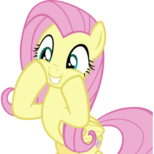 Fluttershy Pony - Sticker 26