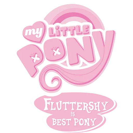 Fluttershy Pony - Sticker 2