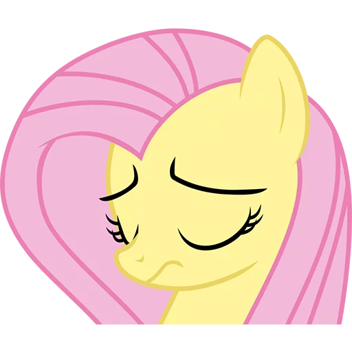 Fluttershy Pony - Sticker 19